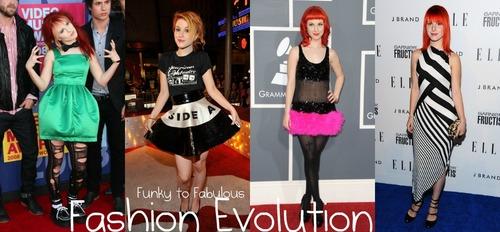 Hayley Williams Fashion Evolution