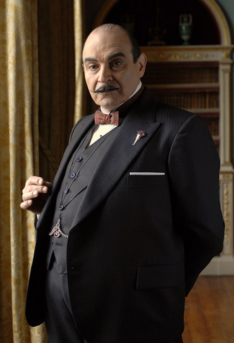 Poirot wallpaper with a business suit entitled Hercule Poirot