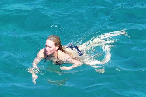 Hilary - On Vacation in Italy - July 11, 2011