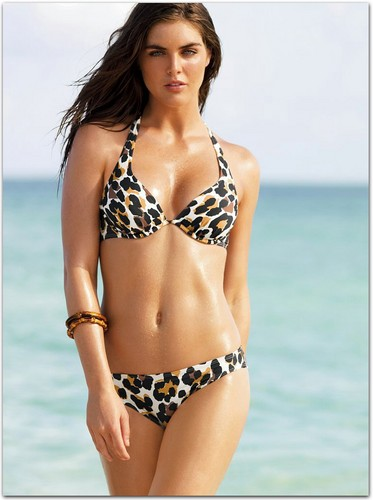 swimsuit si wallpaper containing a bikini titled Hilary Rhoda