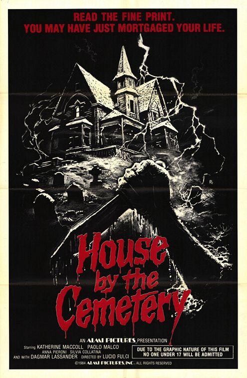 House da the Cemetery poster