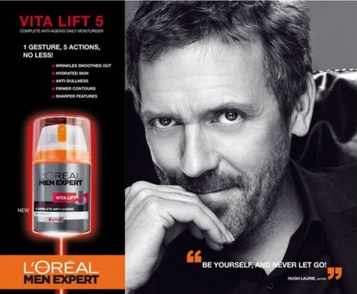 Hugh Laurie-L'Oréal Men Expert-2011