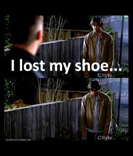 I Nawawala my shoe .... =(