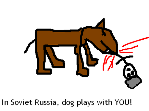 In Soviet Russia.....