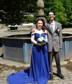 In front of the fountain - maressa photo