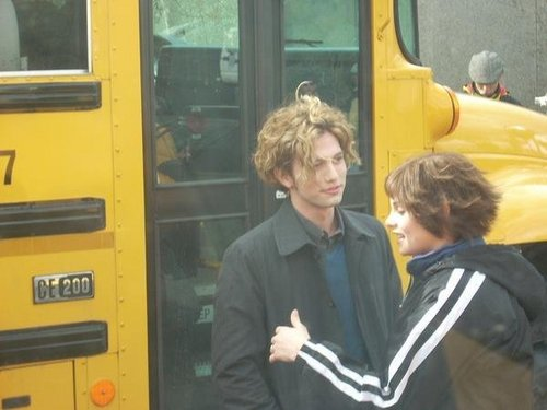 Jackson Rathbone and Ashley Greene
