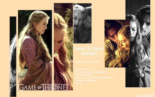 Jaime & Cersei - game-of-thrones Wallpaper