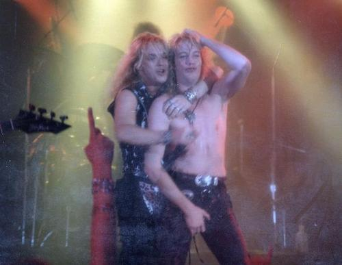 Jani Lane & Bret Michaels