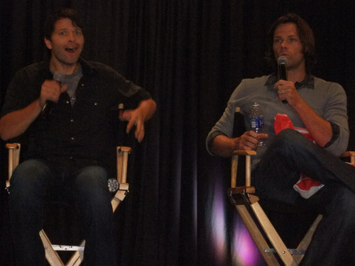 Jared and Misha at NJcon