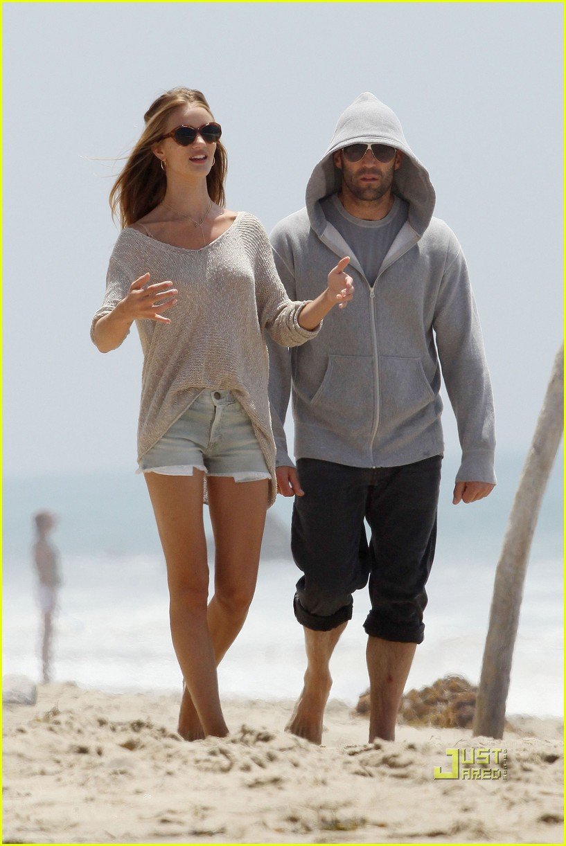 Jason Statham: Seaside Stroll