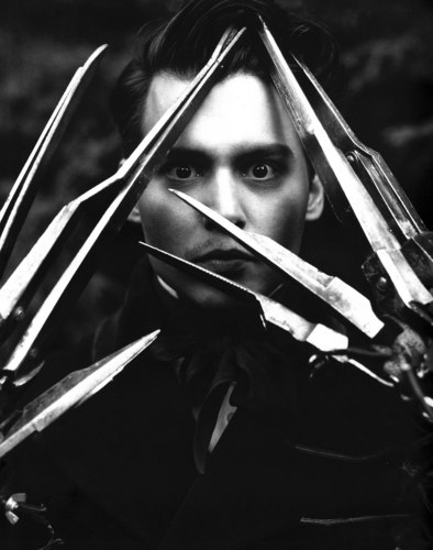 蒂姆·伯顿 壁纸 entitled Johnny Scissorhands