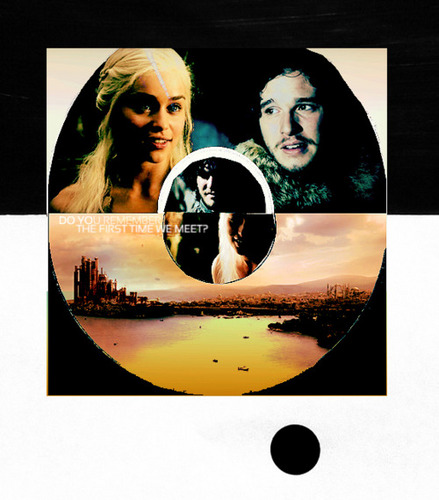 Jon & Daenerys wallpaper probably with a venn diagram called Jon & Daenerys
