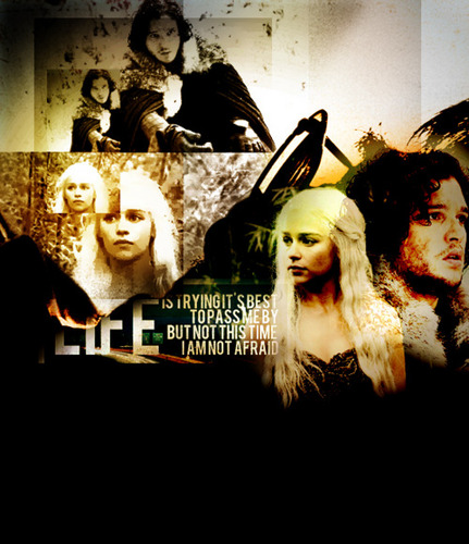 Jon & Daenerys wallpaper called Jon & Daenerys