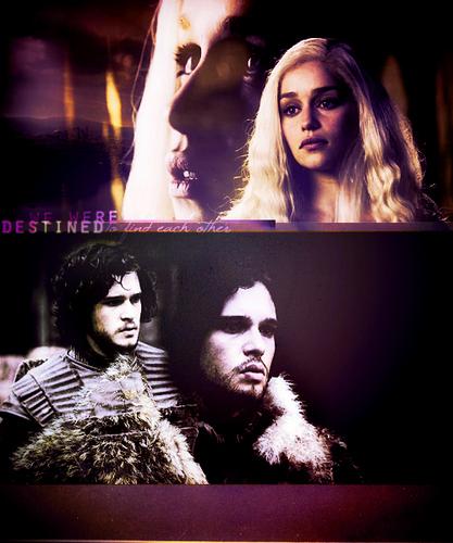 Jon & Daenerys wallpaper entitled Jon & Daenerys