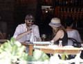 Jon Hamm at Morandi Restaurant