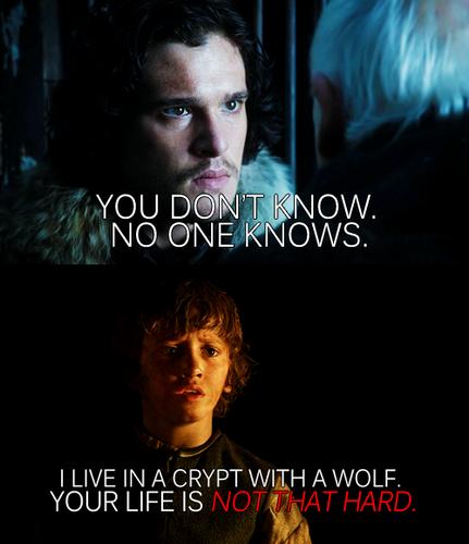 Jon & Rickon