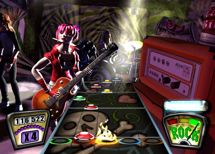 Guitar hero ii to have original's tracks on marketplace.