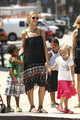July 9: Out with the kids - heidi-klum photo