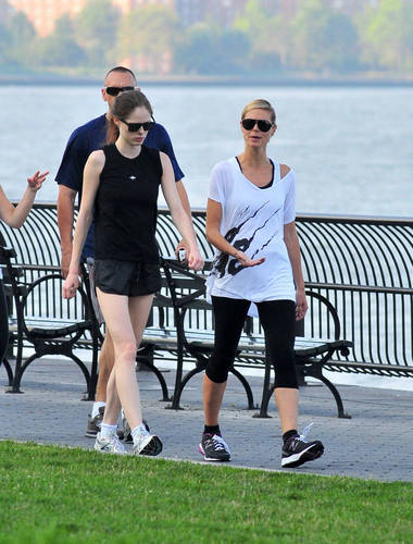 July 9: Running with Coco Rocha