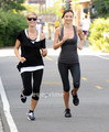 July 9: Running with Miranda Kerr - heidi-klum photo
