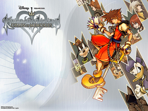 Kingdom Hearts wallpaper probably with anime called KH1 & 2