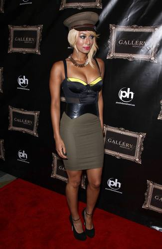 Keri Hilson wallpaper with a hip boot and a playsuit titled Keri Hilson At Gallery Nightclub In Las Vegas 09 07 2011