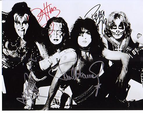 Kiss ~ Autographs