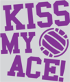 Kiss My Ace! - volleyball screencap
