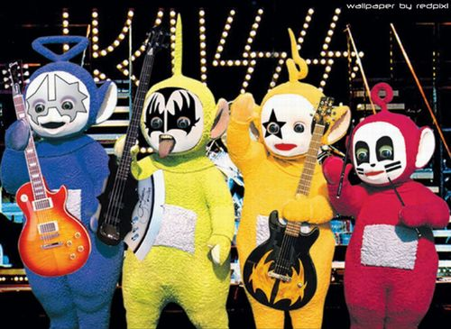 kiss Teletubbies