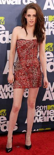 Kristen Stewart in the MMAs 2011