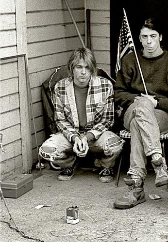 Kurt Cobain & Dave Grohl♥