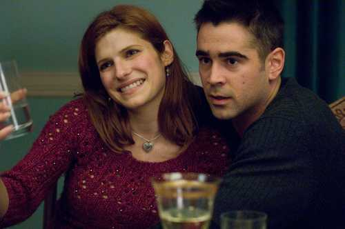 Lake Bell wallpaper probably containing a portrait entitled Lake & Colin Farrell in 'Pride and Glory'