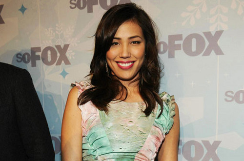 Michaela Conlin wallpaper probably containing a cocktail dress, a chemise, and a blouse called M.