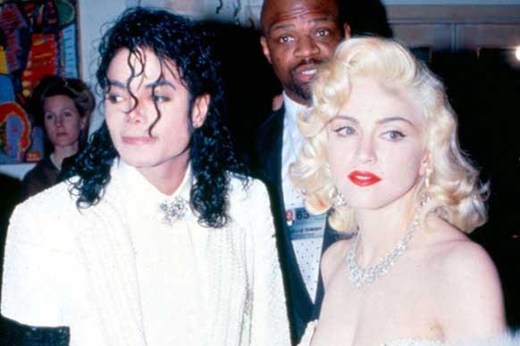Мадонна and Michael Jackson