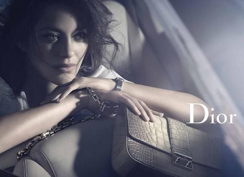 Marion Cotillard ~ July 2011 Dior Handbag Campaign