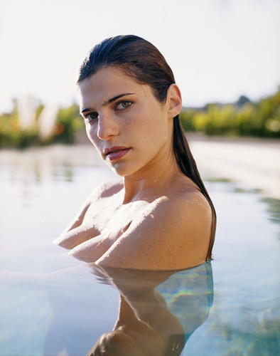 Lake Bell wallpaper probably with a bikini called Maxim Photoshoot - 2004