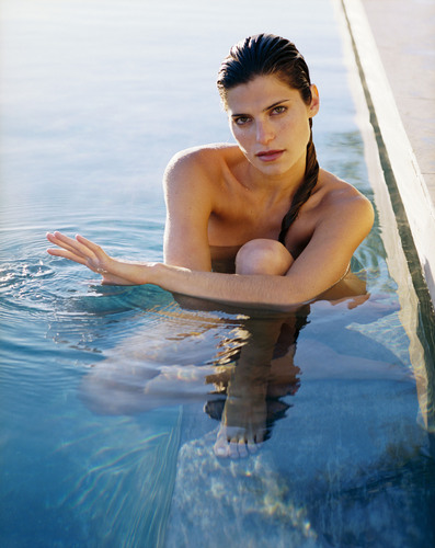 Lake Bell wallpaper containing a hot tub entitled Maxim Photoshoot - 2004
