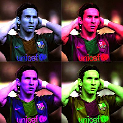 FC Barcelona wallpaper called Messi pop art