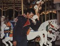 Michael by the carousel - michael-jackson photo