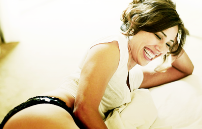 Michaela Conlin wallpaper containing skin titled Michaela