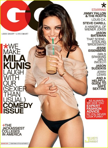 Mila Kunis Covers 'GQ' August 2011