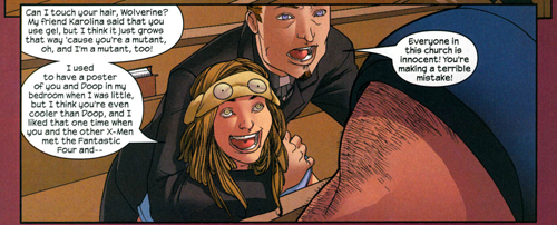 Molly Hayes meets Wolverine