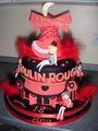 My Moulin Rouge 18th Cake