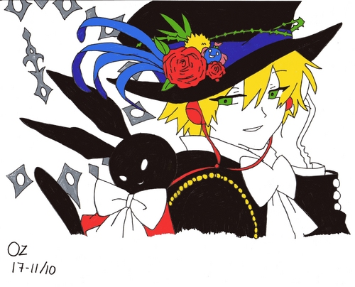 My drawing of Oz from Pandora hearts