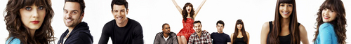 New Girl [Cast banner]