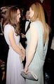 Nicole at the BAFTA Gala with Catherine, Duchess of Cambridge