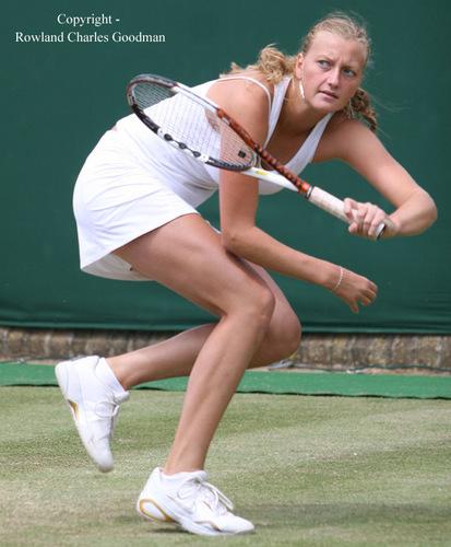 Petra Kvitova Wimbledon 2007