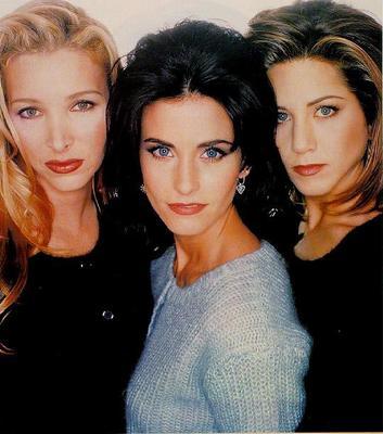 Phoebe, Monica, Rachel
