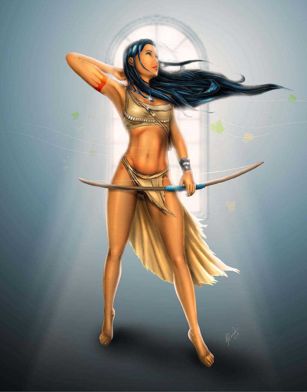 angels female graphics of sexy cartoon