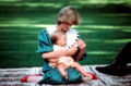 Princess Di with baby William